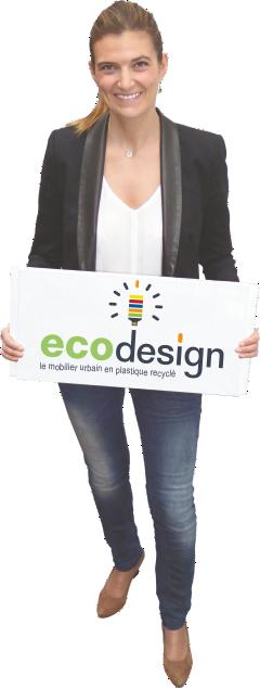 la soci t eco design mobilier urbain plastique recycl. Black Bedroom Furniture Sets. Home Design Ideas