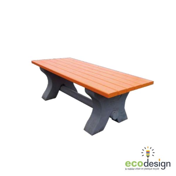 table enfant plastique recycl sans entretien. Black Bedroom Furniture Sets. Home Design Ideas