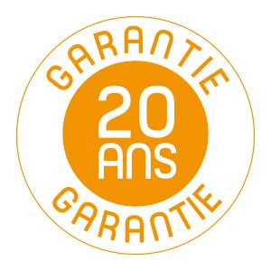 plastique recyclé garantie 20 ans