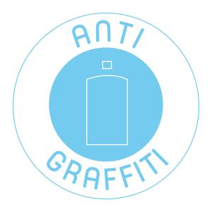 plastique recyclé anti graffiti