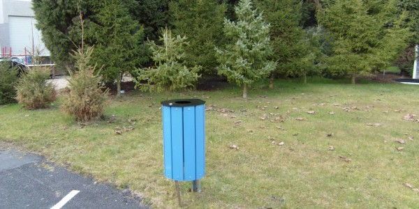 poubelle plastique recyclé