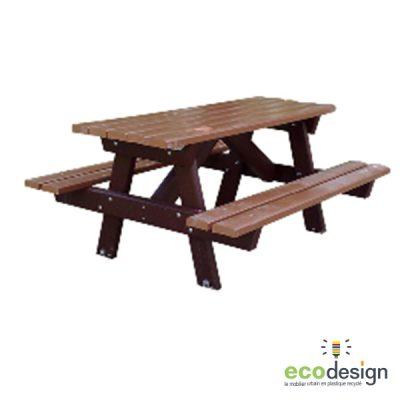 Table forestière pique nique