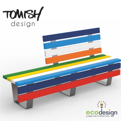 Tomish - Banc demi dossier